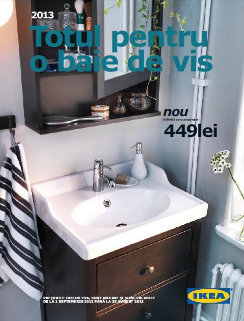 Catalog Ikea oferta Totul pentru o baie de vis 2013   Catalog AZ