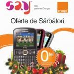 Say oferta 1 Decembrie 2013 – 30 Martie 2014