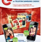 Germanos abonamente Cosmote Telefon Samsung Cadou