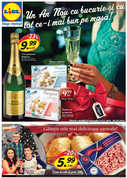 Catalog lidl oferta 23 decembrie 2013 05 ianuarie 2014 for Cataleg lidl