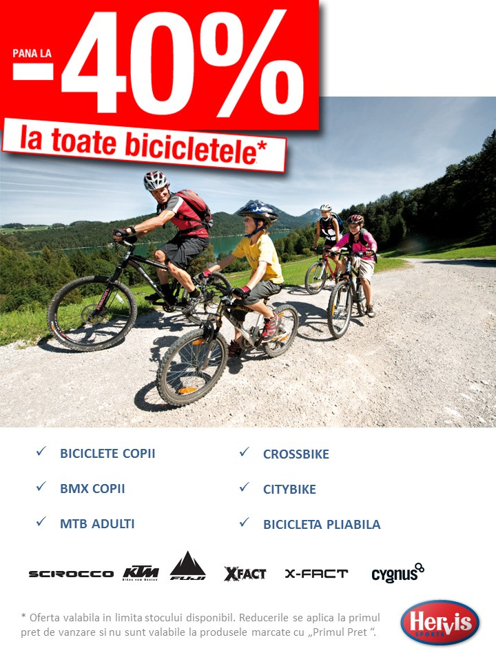 oferte grozave 2017 cele mai noi vânzări speciale Catalog Hervis Sports Oferta la Biciclete - Catalog AZ
