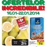 Carrefour Alimentare 16 – 22 Ianuarie 2014