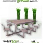 Feeria mobilier gradina inox