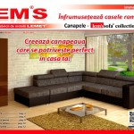 Lem's Canapele Sofa Collection 2014