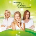 Farmec Gerovital Generatii de femei 2014