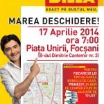 Billa Focsani Deschidere 17 Aprilie 2014