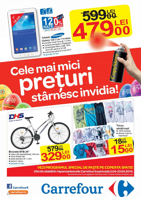 Catalog Carrefour Hipermarket Nealimentare 03-23 Aprilie 2014