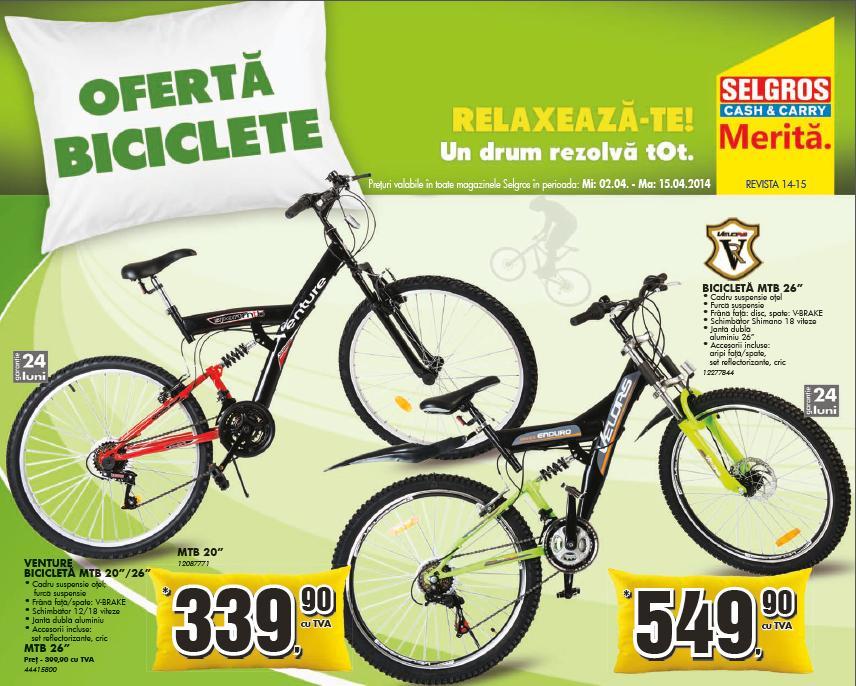 oferte biciclete carrefour