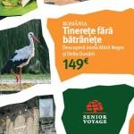 Senior Voyage vacante Delta Dunarii si Marea Neagra