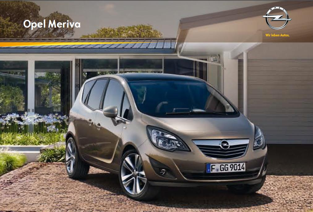 catalog opel meriva catalog az. Black Bedroom Furniture Sets. Home Design Ideas