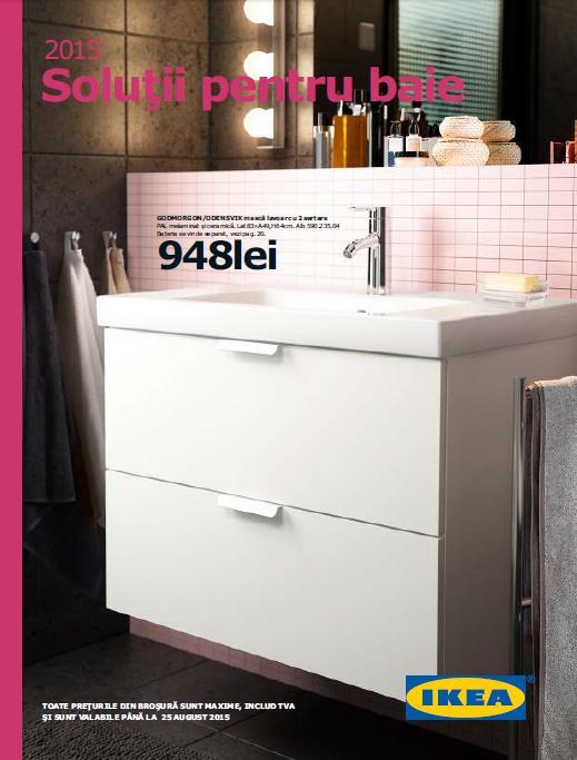 Catalog IKEA Solutii pentru Baie 2015   Catalog AZ