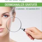 Centrofarm Dermoanaliza Gratuita Noiembrie 2014