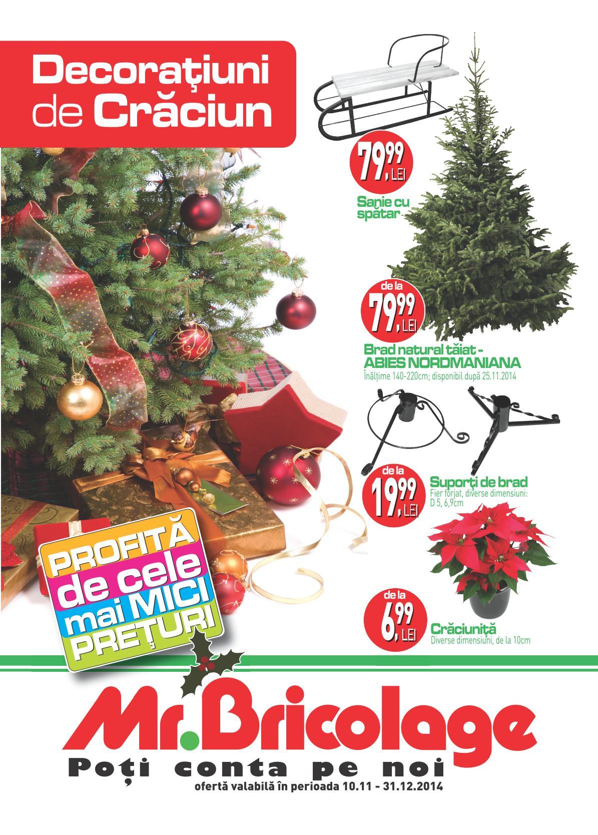 Catalog mr bricolage decoratiuni de craciun 2014 catalog az - Mr bricolage albi ...