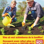 BauMax Oferta pt Gradina Februarie 2015