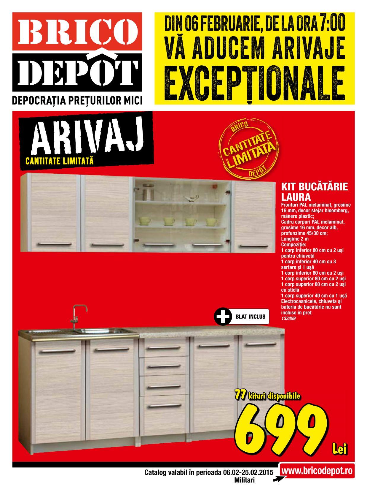 catalog brico depot 6 25 februarie 2015 catalog az. Black Bedroom Furniture Sets. Home Design Ideas