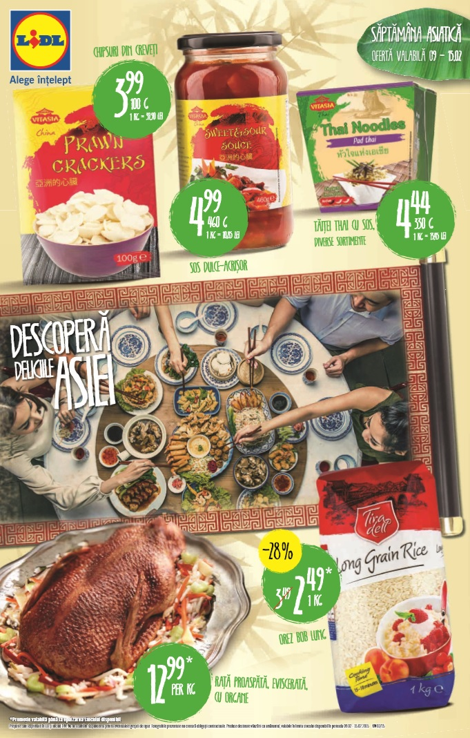 Catalog lidl delicii asia 9 15 februarie 2015 catalog az for Cataleg lidl
