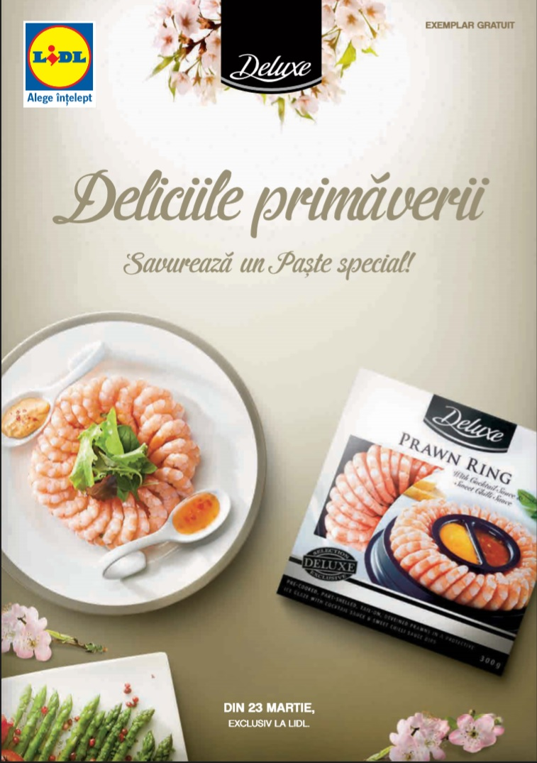 Catalog lidl paste 23 martie 12 aprilie 2015 catalog az for Cataleg lidl