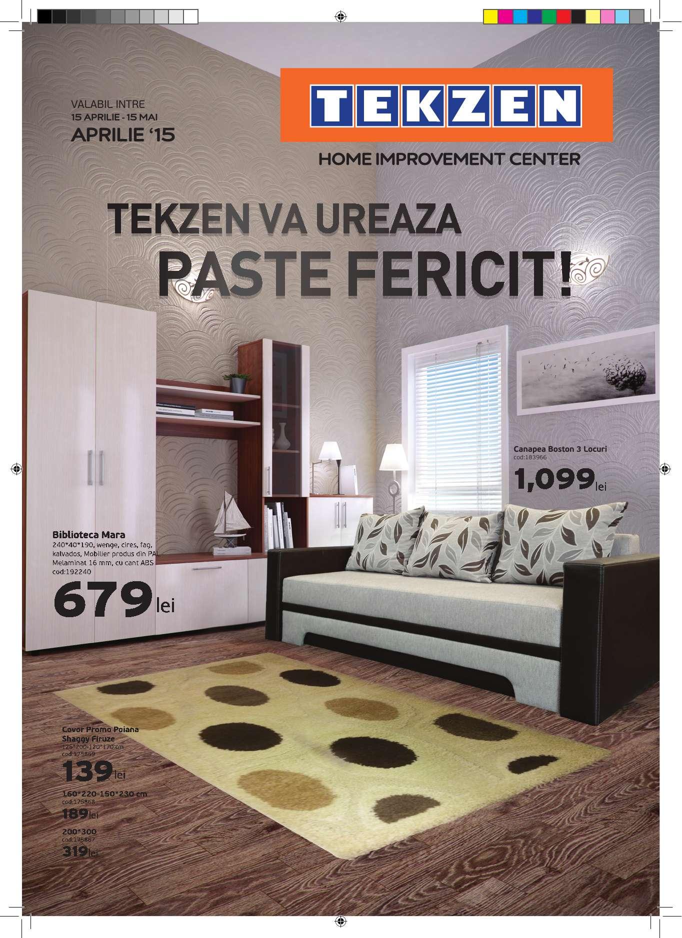 Catalog tekzen oferte deco mai 2015 catalog az for Catalogue deco