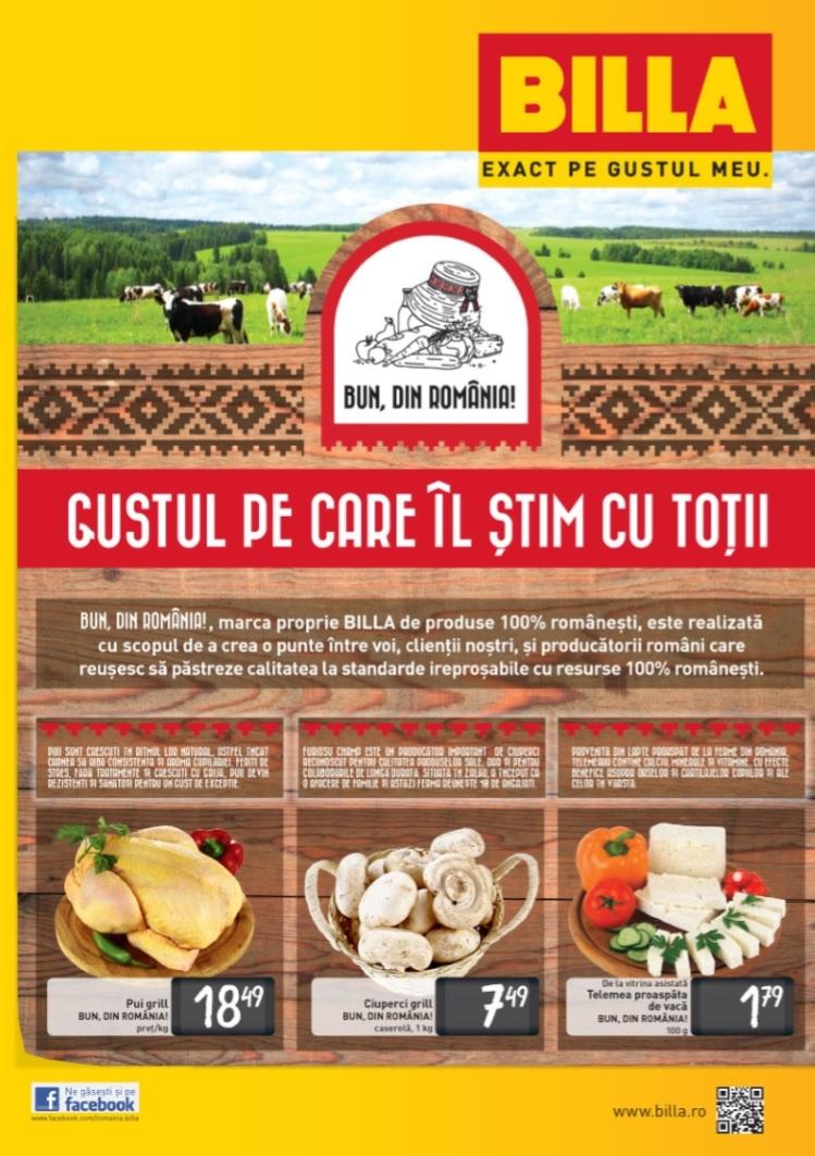 Catalog Billa Bun din Romania Vara 2015 - Catalog AZ