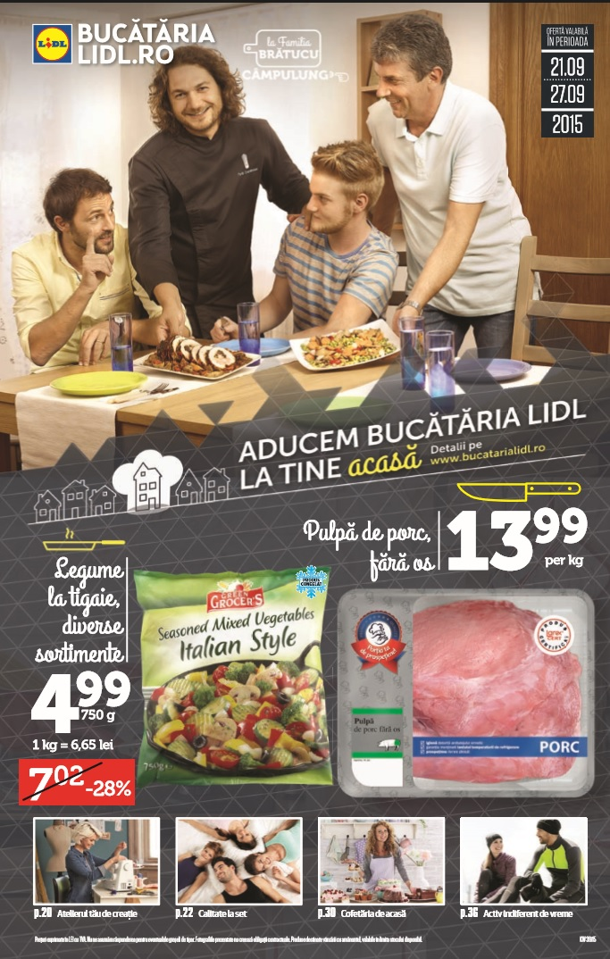 Catalog lidl bucataria lidl 21 27 septembrie 2015 catalog az for Cataleg lidl