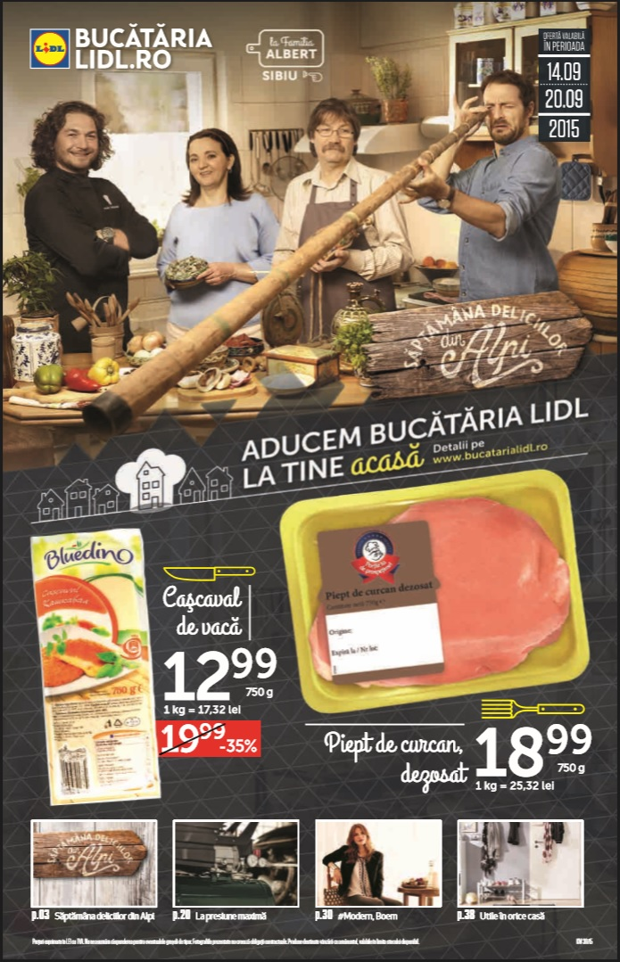 Catalog lidl oferta food 14 20 septembrie 2015 catalog az for Cataleg lidl
