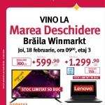Altex Deschidere Winmarkt Braila Februarie 2016