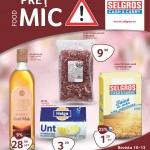 Selgros Pret Mic Food 4-31 Martie 2016
