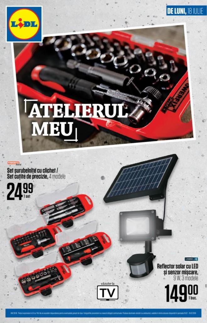 Catalog lidl atelierul meu 18 24 iulie 2016 catalog az for Cataleg lidl