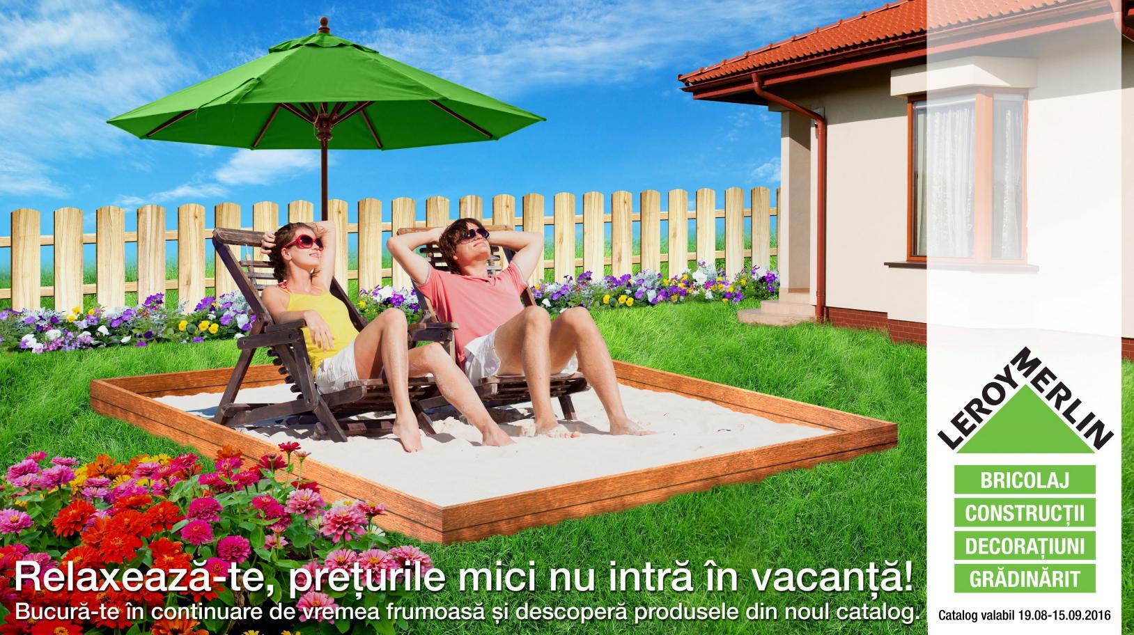 catalog leroy merlin 19 august 15 septembrie 2016 catalog az. Black Bedroom Furniture Sets. Home Design Ideas