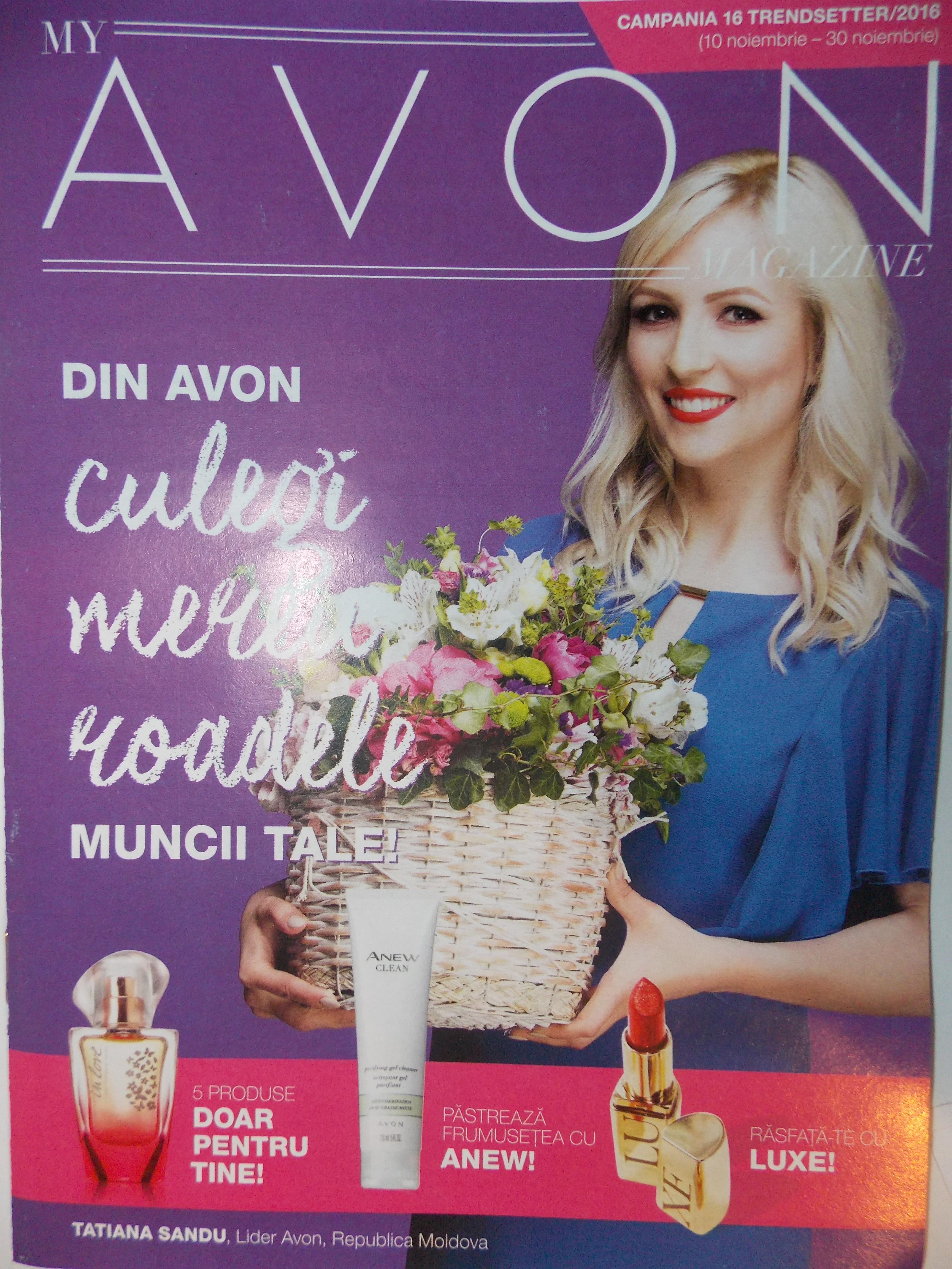 Catalog My Avon Magazine Campania 16 2016 - Catalog AZ