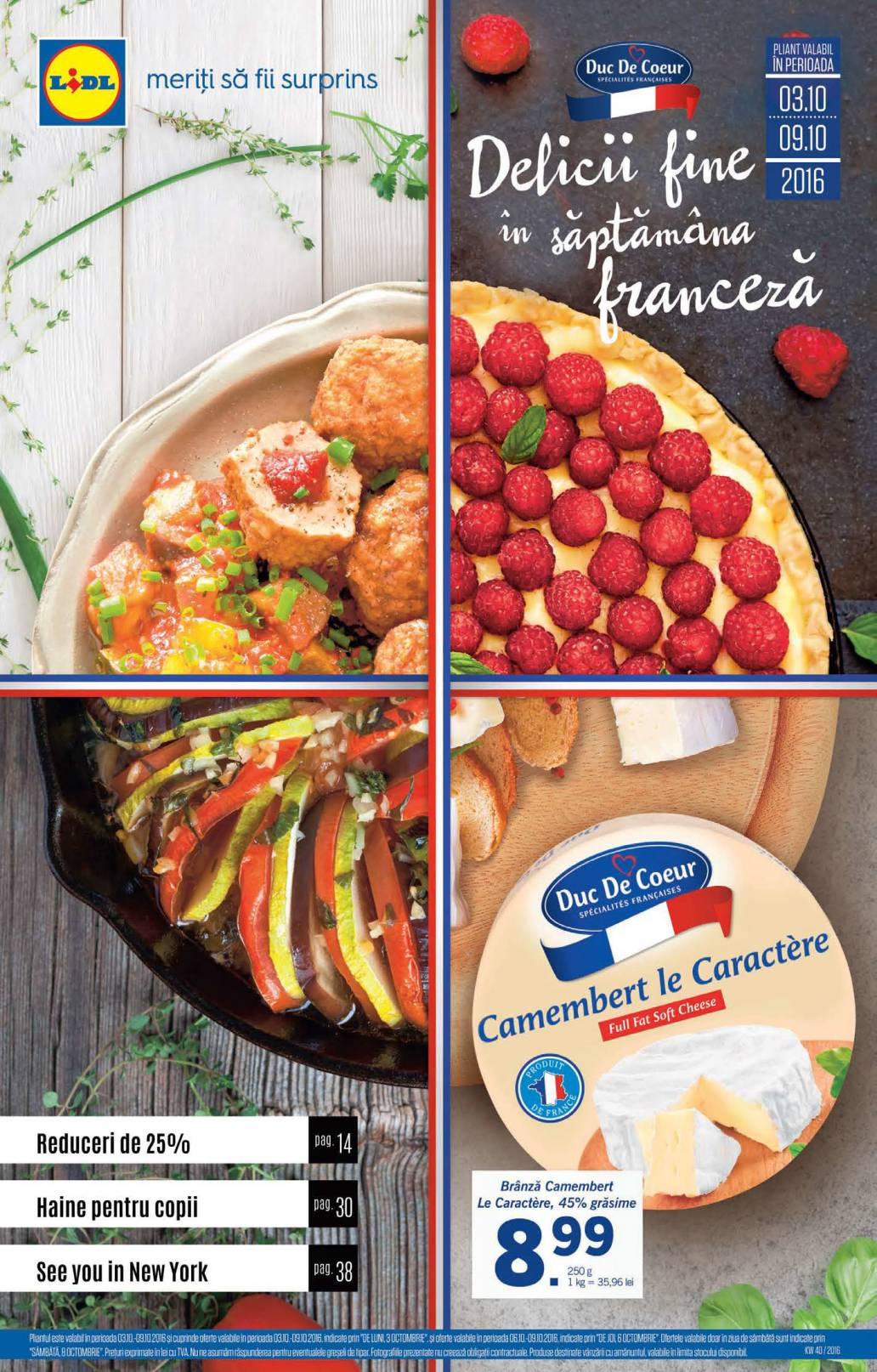 Catalog lidl food 03 09 octombrie 2016 catalog az for Cataleg lidl