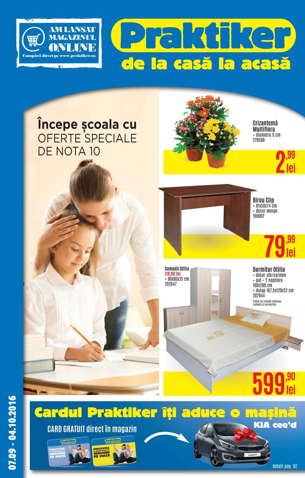 catalog praktiker 07 septembrie 14 octombrie 2016. Black Bedroom Furniture Sets. Home Design Ideas