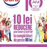 Cora 10 lei Reducere 12 – 18 Octombrie 2016