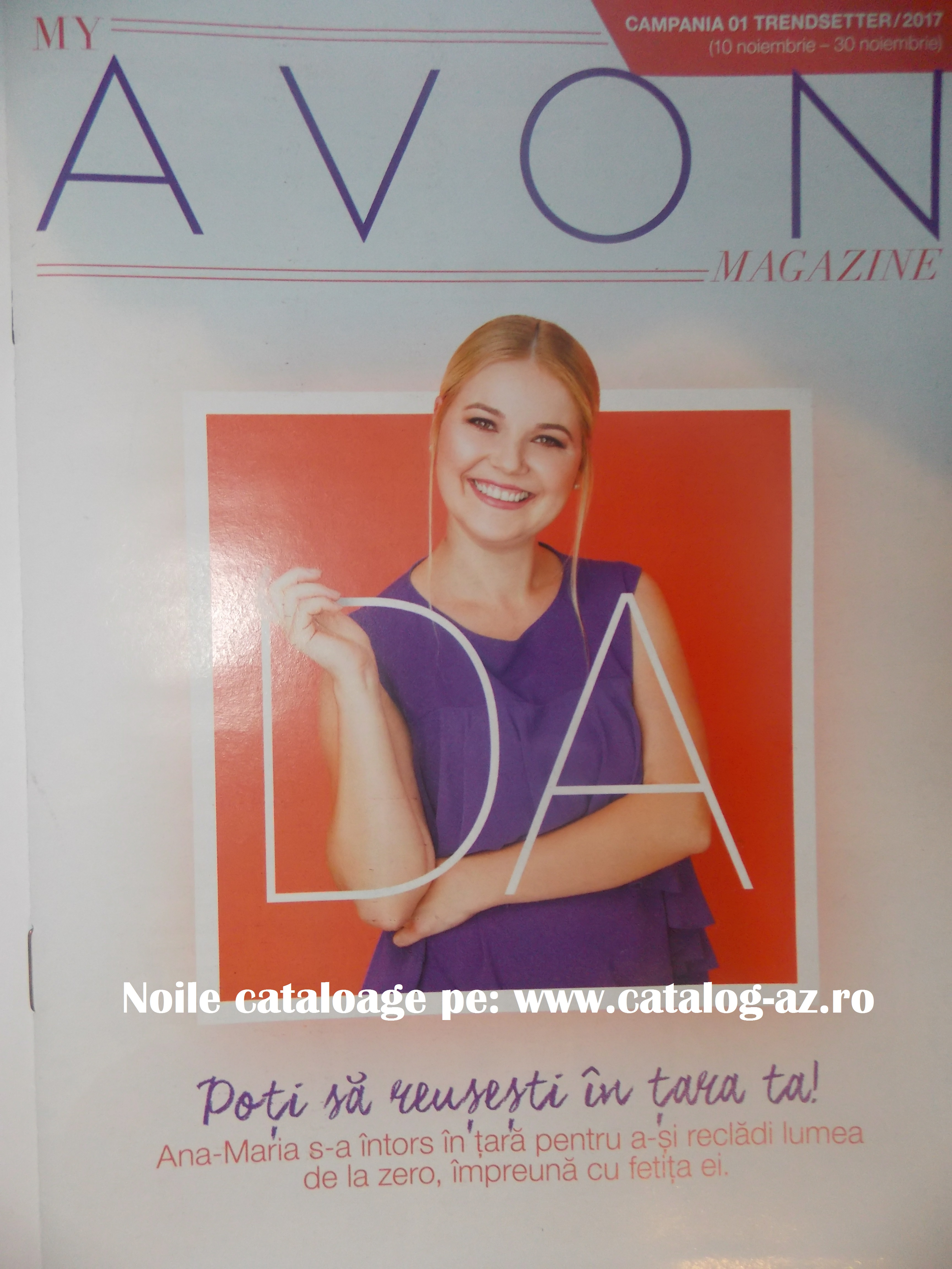 Catalog My Avon Magazine Campania 01 2017 - Catalog AZ