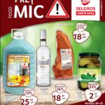 Selgros Pret Mic Food 01 – 31 Octombrie 2016