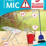 Selgros Pret Mic NonFood Octombrie 2016