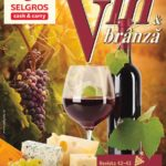 Selgros Vin & Branza 14 – 27 Octombrie 2016