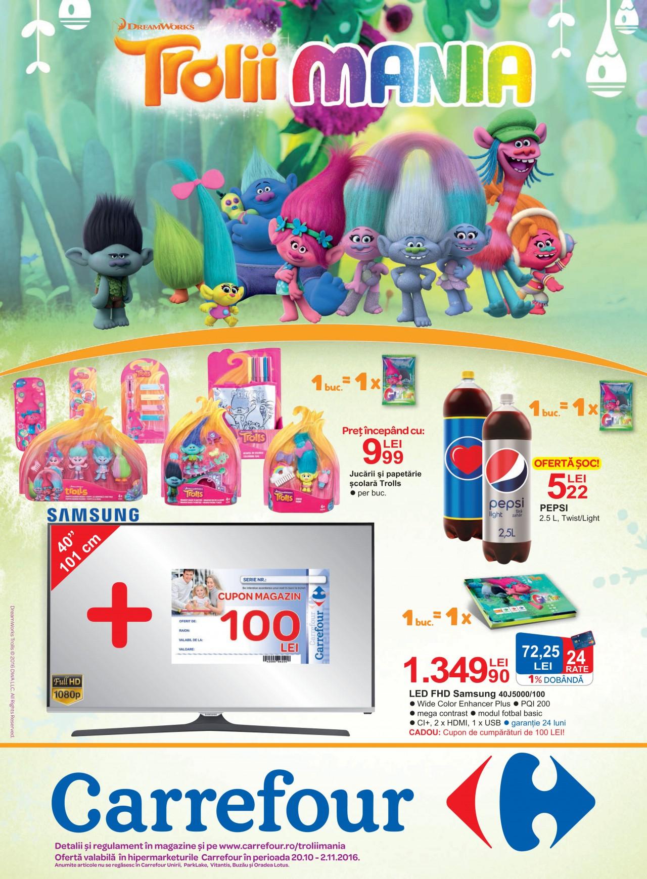 oferta carrefour televizoare