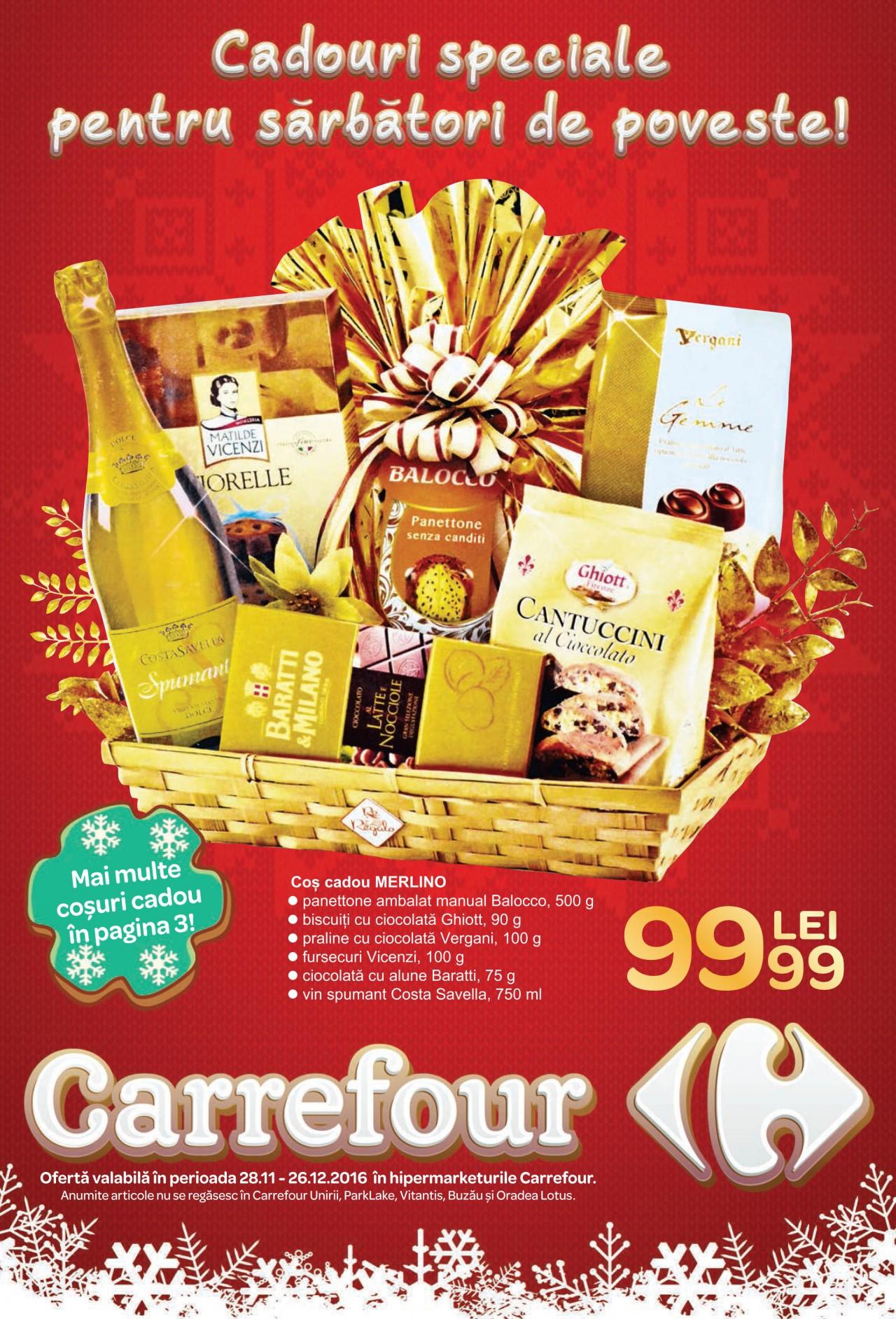 Catalog Carrefour Cadouri 28 Noiembrie 26 Decembrie Cadou Craciun