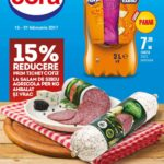 Cora Alimentar 15 – 21 Februarie 2017