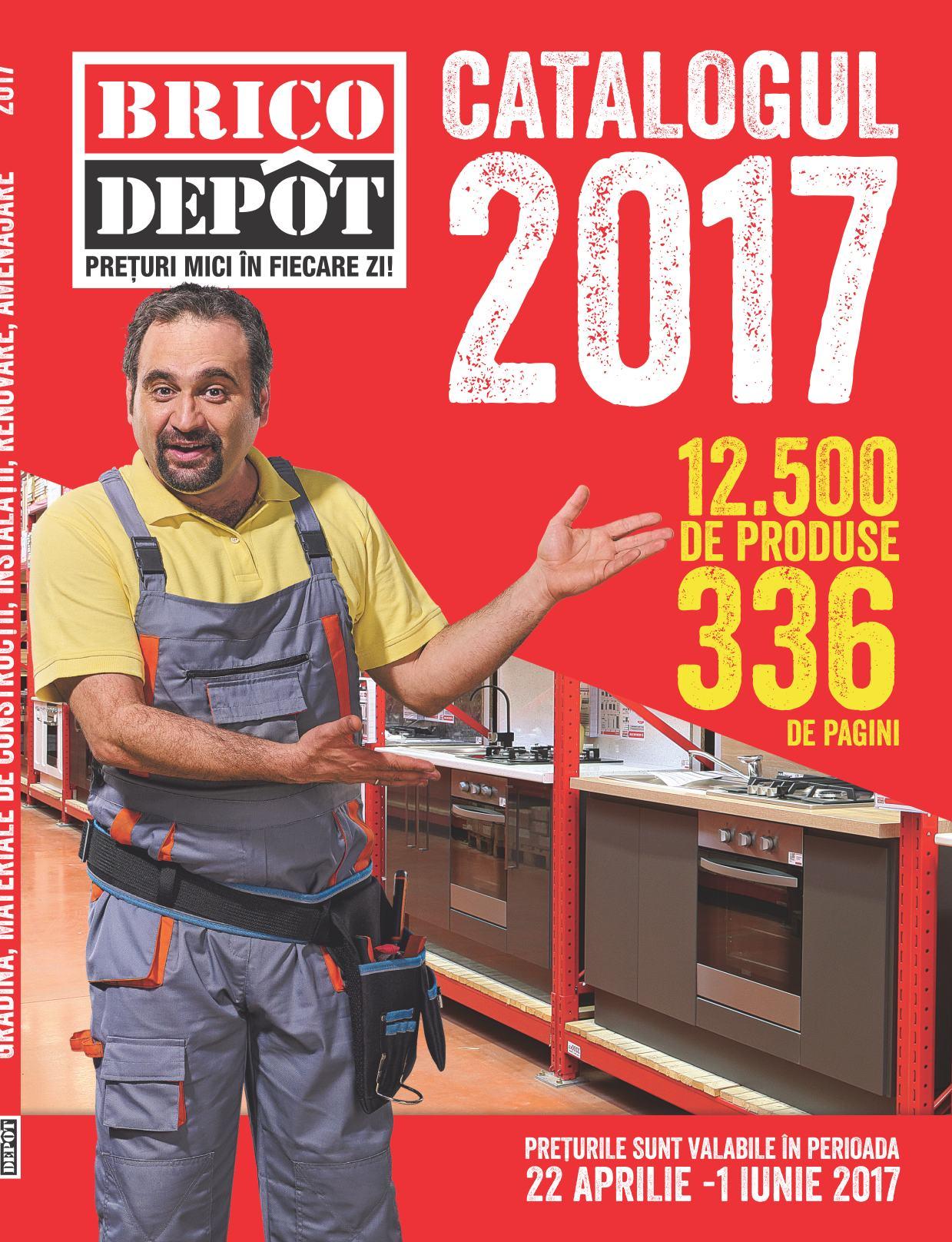 catalog-Brico-Depot-336-de-Pagini-Aprilie-Decembrie-2017 Impressionnant De Carport Brico Depot Des Idées