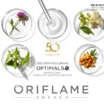 Oriflame Campania 8 2017 – Descopera noul brand Optimals