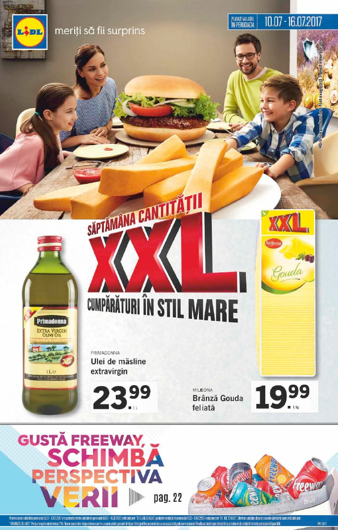 Catalog lidl cantitati xxl 10 16 iulie 2017 catalog az for Cataleg lidl