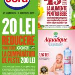 Cora Food 27 Septembrie – 03 Octombrie 2017