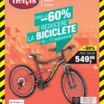 Hervis Sports Reduceri la Biciclete 14 – 17 Septembrie 2017