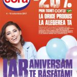 Cora Alimentare & Aniversare 04-10 Octombrie 2017