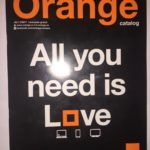 Orange All you need is Love Toamna 2017