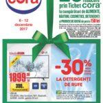 Cora Alimentare & Nealimentare 06 – 12 Decembrie 2017