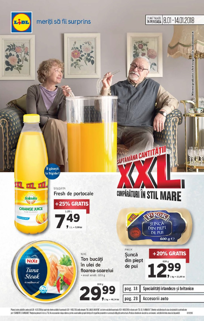 Catalog lidl oferte 08 14 ianuarie 2018 catalog az for Cataleg lidl
