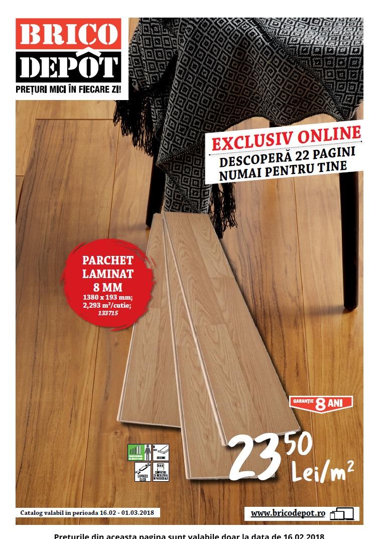catalog brico depot 16 februarie 01 martie 2018 catalog az. Black Bedroom Furniture Sets. Home Design Ideas